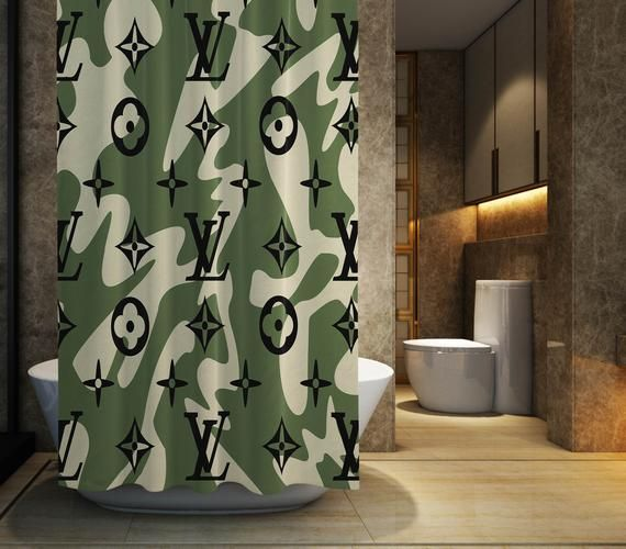Pin Di Shower Curtain