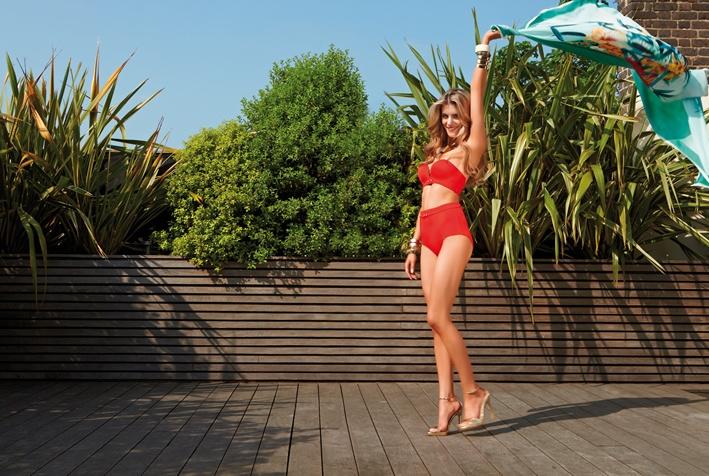 Gossard | Swimwear Plunge Bra and High Waist Short