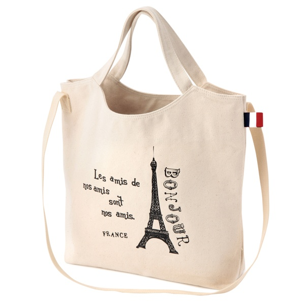 BA81 2WAY帆布トートバッグ(フランス) | 商品詳細 | Afternoon Tea Online Shop