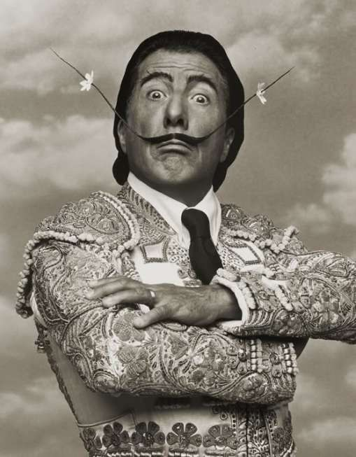 Dustin Hoffman loves Dali by Herb Ritts
