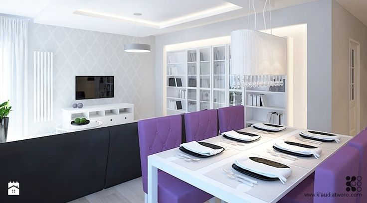 Salon - zdjęcie od Klaudia Tworo Projektowanie Wnętrz - Salon - Klaudia Tworo Projektowanie Wnętrz