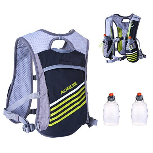 Triwonder Hydration Pack Backpack 5.5L Outdoors Mochilas Trail Marathoner Running Race Hydration Vest:   Specifications/b br - Applicable/b: unisex br - Material/b: waterproof nylon br - Lining/b: polyester mesh br - Volume/b: 5.5L br - Size/b: free br - Weight/b: 250g br - Use for/b: trail running, road running, night running, cycling