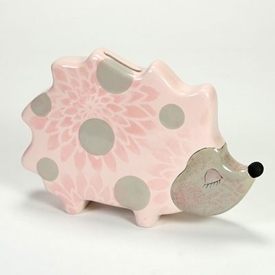 Hedgehogs are right on trend! Add designs with stencils, Crystal Glazes and more.