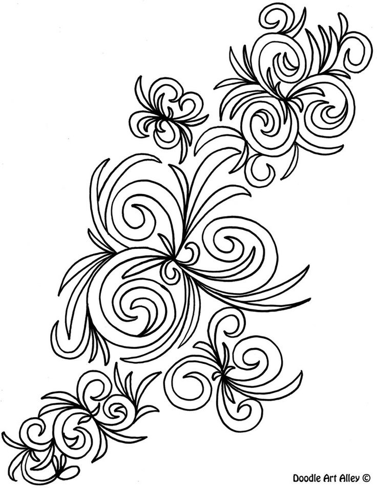 Abstract Cross Coloring Pages : Images about doodle art alley on pinterest