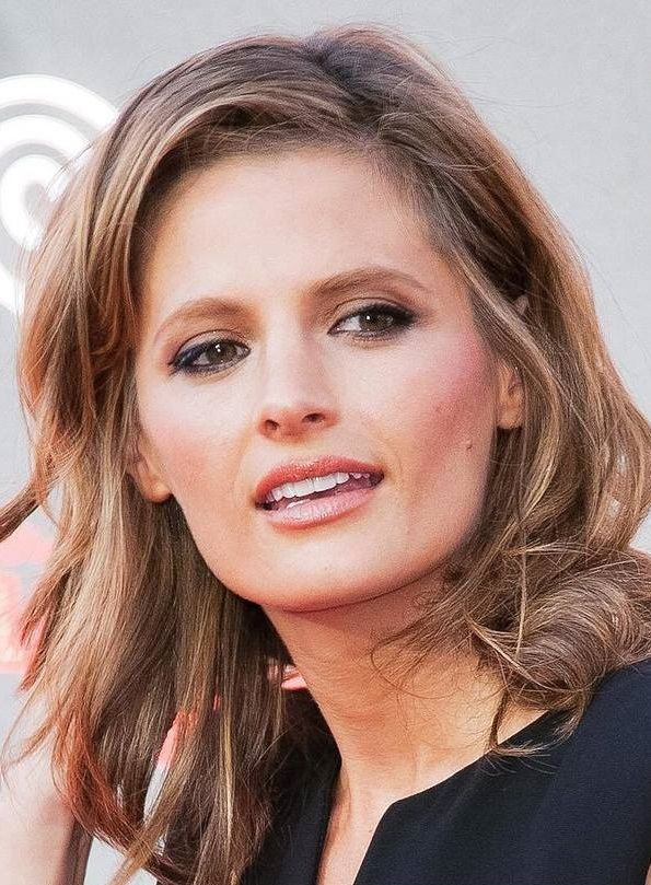 Stana Katic Italian FP  drstanakatic Hope you had a day
