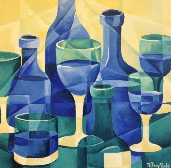 Blue Glass by Tiffany Budd