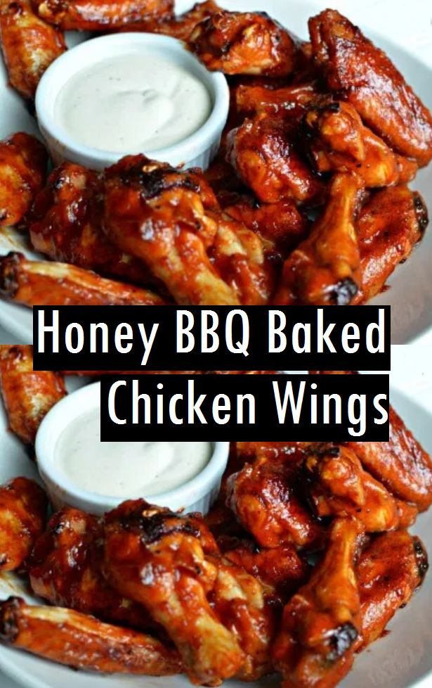 Honey Bbq Baked Chicken Wings Dessert Amp Cake Recipes In