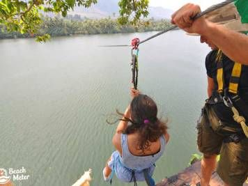 Cambodia's new zipline adventure over the Kampot River. See the gallery here.