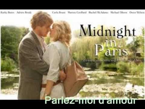 Parlez-moi d'amour :  Milva..( Midnight in Paris )