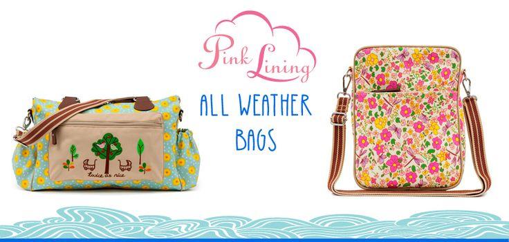 Οι πιο #Hip&Chic #τσάντες αλλαγής για τις πιο μοδάτες #μαμάδες #diaperbags #PinkLining #Summer2015