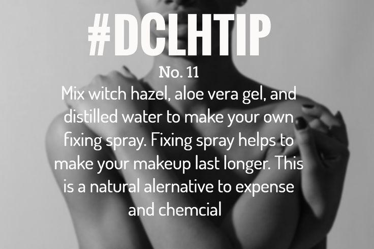 DIY Natural Makeup Fixing Spray  DIY Natural Makeup Fixing Spray