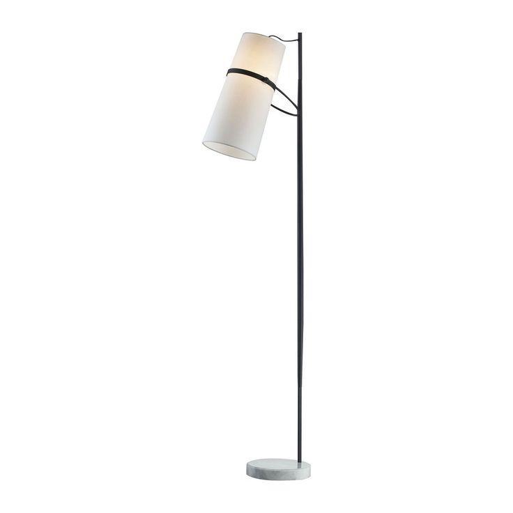 dimond lighting banded shade modern floor lamp d2730