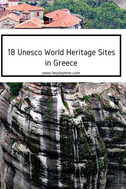 18 ΕΛΛΗΝΙΚΑ ΜΝΗΜΕΙΑ ΠΑΓΚΟΣΜΙΑΣ ΚΛΗΡΟΝΟΜΙΑΣ ΤΗΣ UNESCO   Hey Daphne