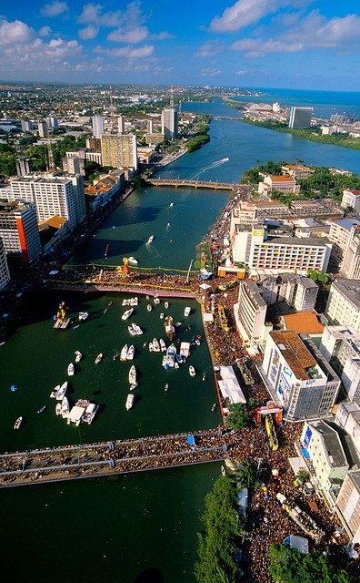 Brazil Wonders - Pernambuco - Recife (Citu]y of Northesat of Brazil)