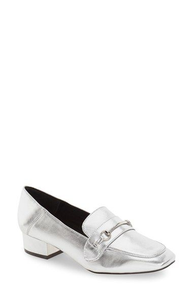 Free shipping and returns on Steve Madden 'Timbir' Square Toe Loafer (Women)