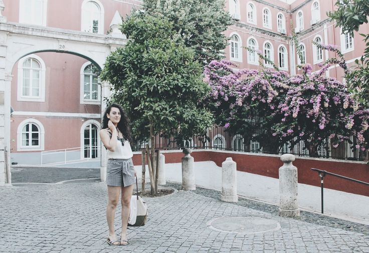 Lisbon #ootd #zara https://fashionablestreets.blogspot.de