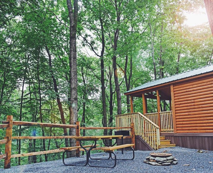 Cabin Camping At Yogi Bears Jellystone Park In Quarryville PA