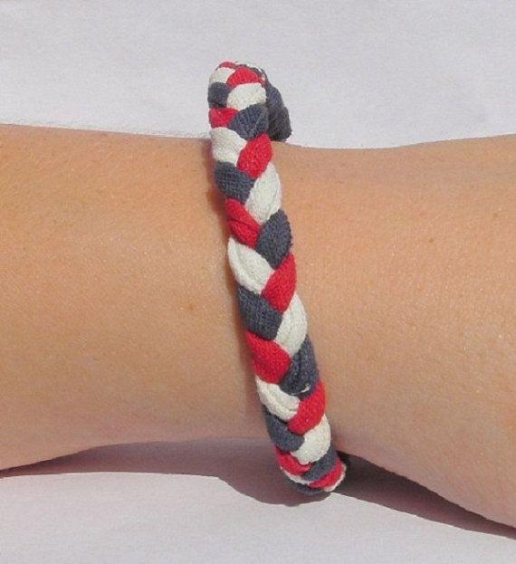 hockey tape bracelets..who would've thunk it.