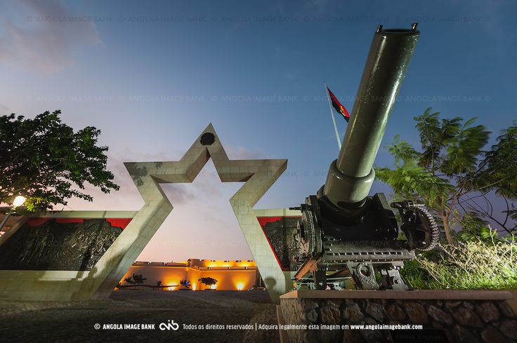 Fortaleza São Miguel de Luanda, Museu das Forçar Armadas após a reabilitação #Angola #Luanda http://www.angolaimagebank.com/gallery-image/Cidades-de-Angola/G0000kZ7kJEVN5mk/I0000uzS8V6CIgoo