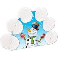 Centrepiece Honeycomb Snowman $4.95  BE20654