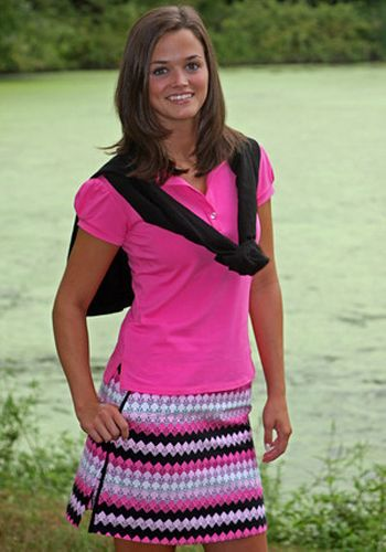 cute golf outfit...matches my clubs