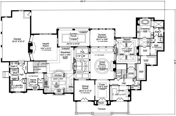 895 migliori immagini floor plans su pinterest piantine for Piani di casa di campagna 1500 sq ft