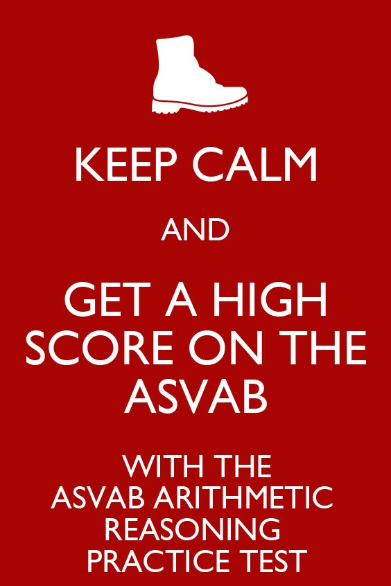 The ASVAB Arithmetic Reasoning practice test is specifically designed to ensure that the test-taker is knowledgeable about the ASVAB and is able to know what to expect when it is time to take the Arithmetic Reasoning portion of the ASVAB.