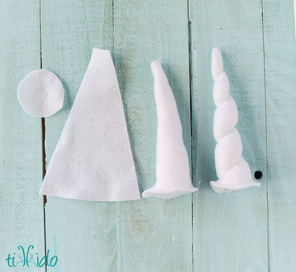Easy Felt Unicorn Horn Headband Tutorial | TikkiDo.com