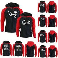 Wish | Couple Hoodie - King And Queen His and Hers - New Design Couple Matching Hoodie