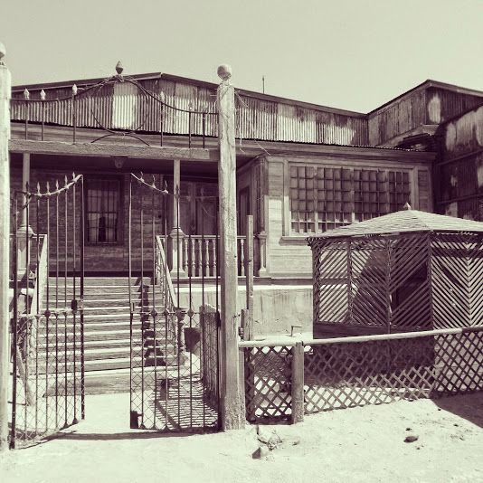Oficina Salitrera Humberstone en Pozo Almonte, Tarapacá
