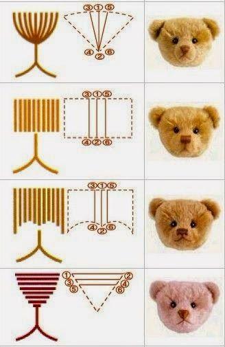 ARTESANATO COM QUIANE - Paps,Moldes,E.V.A,Feltro,Costuras,Fofuchas 3D: como costurar focinho