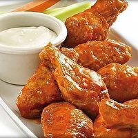 Buffalo Chicken Wings by Cook Yourself Thin