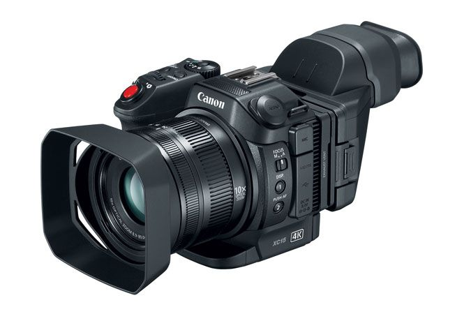 Canon XC15 4K UHD Camcorder | Canon Online Store