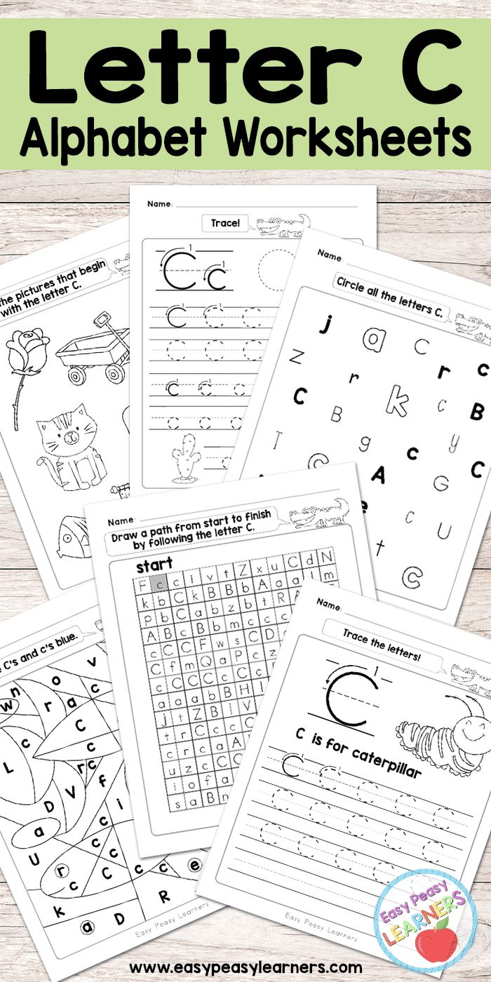 Get 20 alphabet worksheets ideas on pinterest without signing up free printable letter c worksheets alphabet worksheets series robcynllc Gallery