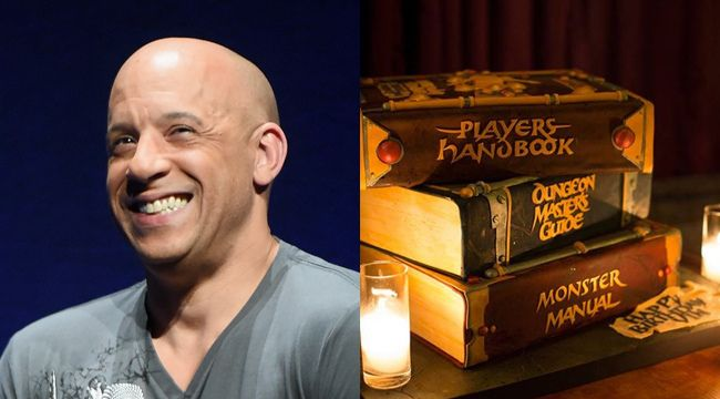 Vin Diesel Dungeons And Dragons Birthday Cake