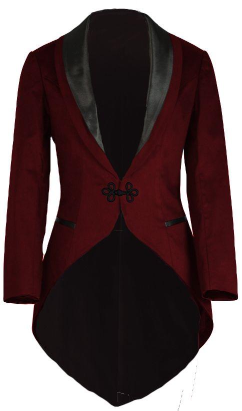 Victorian Dinner Jacket Chic Star design by Amber Middaugh - Steampunk inspiration