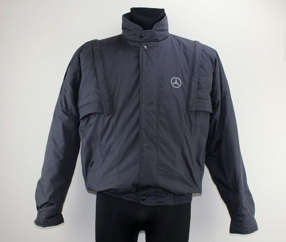 Vintage 80s Original Mercedes jacket thrift by DesignerSecondHand