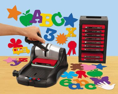 Have fun with die cut machines. For teachers and children.