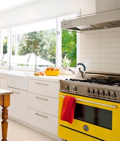 images about bertazzoni kitchen appliances on,Yellow Kitchen Appliances,Kitchen decor