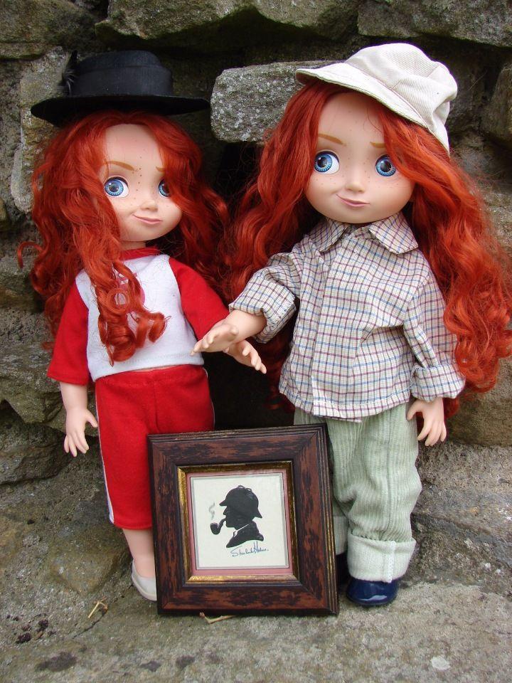 """""""Союз рыжих"""". / Рыжий, рыжий, конопатый! 7 - 27 апреля 2017 / Конкурсы кукол и игрушек / Бэйбики. Куклы фото. Одежда для кукол"""