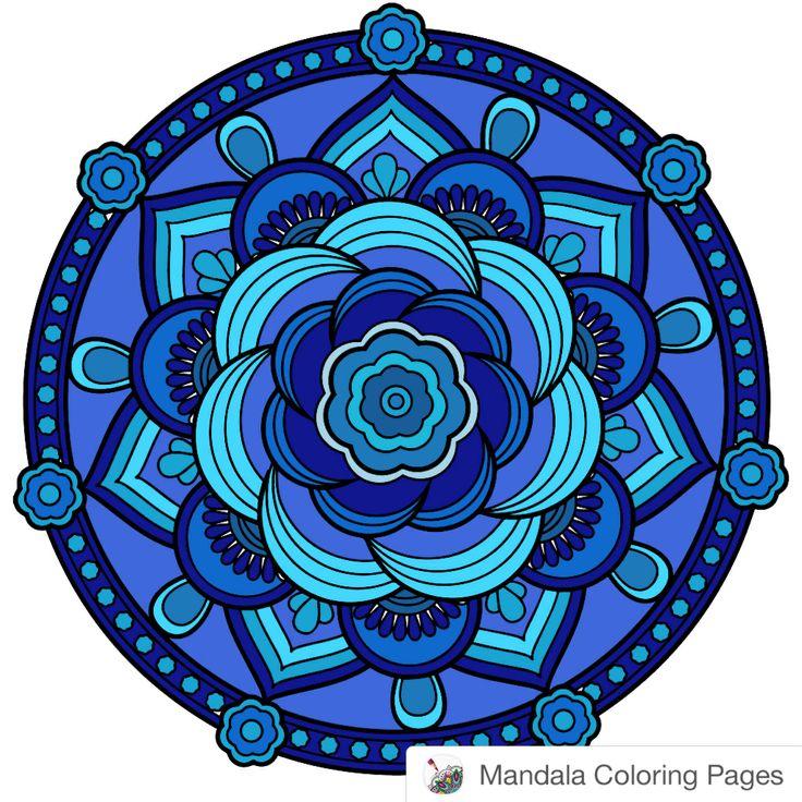 #mandala  Made with Mandala Coloring Pages iOS app: http://hyperurl.co/MandalaColoringPages