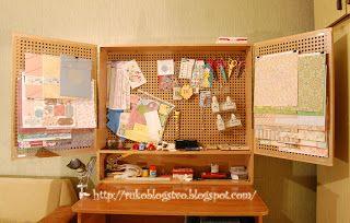 РукоБлогство: Шкаф скрапбукера (для хранения инструментов)