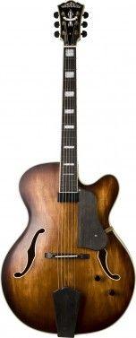 Washburn J600K Electric Classic Jazz Guitar Venetian Cutaway Vintage Matte Finish