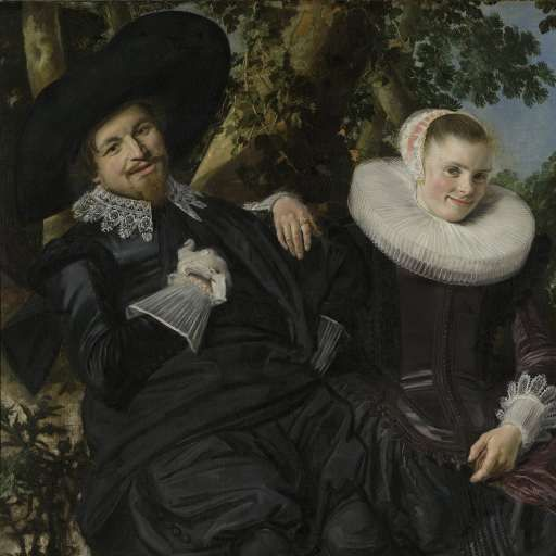 Portrait of a Couple, Probably Isaac Abrahamsz Massa and Beatrix van der Laen, Frans Hals, c. 1622 - Search - Rijksmuseum
