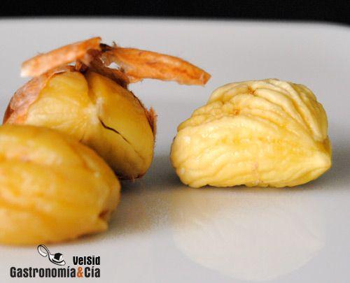 Trucos de cocina: Pelar castañas