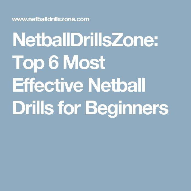 NetballDrillsZone: Top 6 Most Effective Netball Drills for Beginners