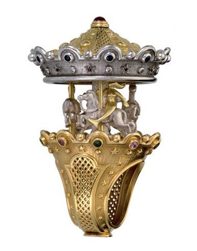 Carousel ring by Jean Boggio