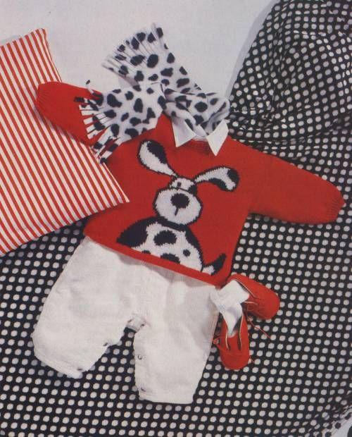 Детский пуловер Весёлый далматин. Обсуждение на LiveInternet - Российский Сервис Онлайн-Дневников