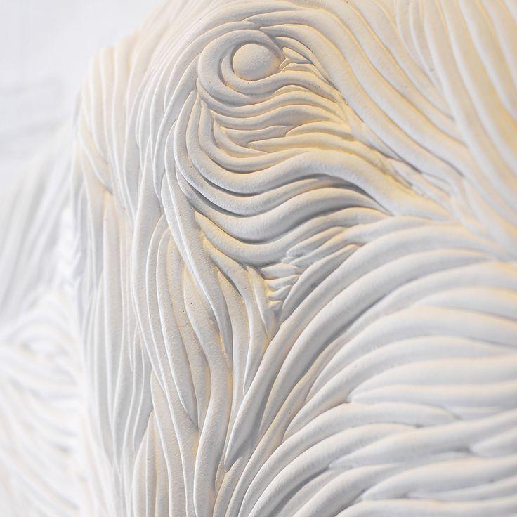Batoidea sculpture by ODESD2. Designer: Kyrill Zhuravel.  http://odesd2.com/en/decor/sculpture/batoidea_sculpture