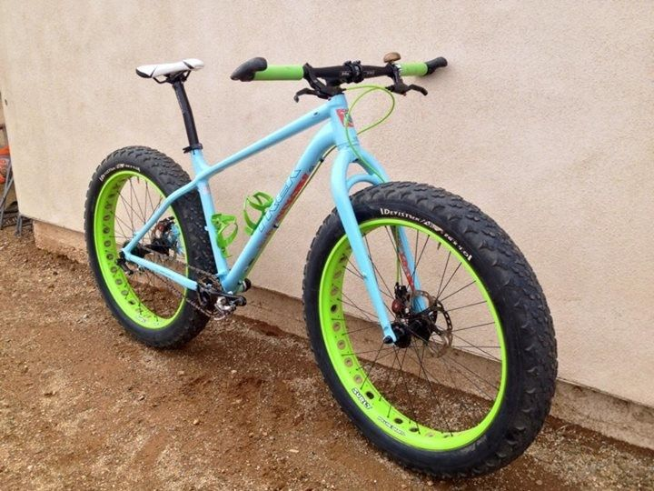 Nice and simple fat bike ... the way I like it.